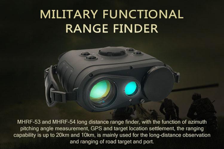 Militer Jarak Jauh Laser Rangefinder