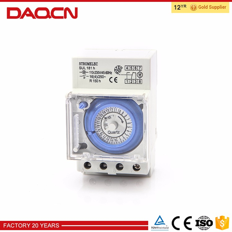 Manual Timer Time Switch Sul181h For Swimming Pool - Buy Time Switch,24  Hours Time Switch,Mechanical Time Switch Product on Alibaba.com