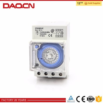 Manual Timer Time Switch Sul181h For Swimming Pool Buy