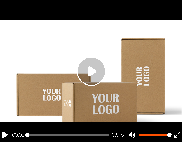 Custom Recyclable mailing boxes/ Brown Kraft Paper Shipping Box/Mailer paper Boxes
