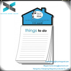 House-shaped magnet things to do notepad fridge magnet notepad