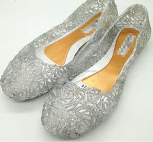 best selling plastic jelly shoes women