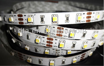 5m 12v 3528 Smd Led Cct Color Temperature Adjustable Strip(warm ...