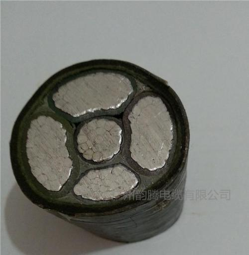 Low Voltage Aluminum Conductor 3 core electric cable