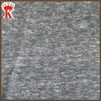 melange polyester cotton rayon blend knitted fabric, best sell soft breathable 100% polyester jersey knit fabric