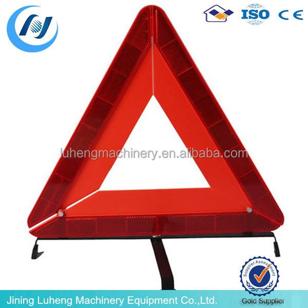 Safety Warning Triangle Traffic Sign Emergency Saving Road ...