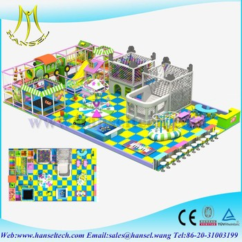 Hansel Fast Food Restaurants Indoor Playground Commerical