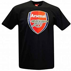 da0e62c7eba Get Quotations · Official Arsenal FC Crest T-Shirt
