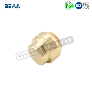 NSF approved quick connection lead free brass fittings for sale