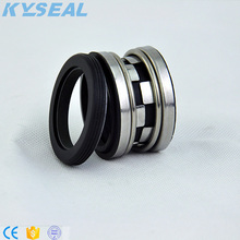 how does a john crane mechanical seal type 9 work for crude oil pump