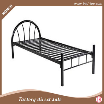Metal Single Cot Bed Frame Modern Design Metal Bed In Very Cheap ...