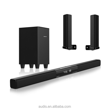 New Style Sound Bar Home Theater Music System With Wireless Subwoofer Surround