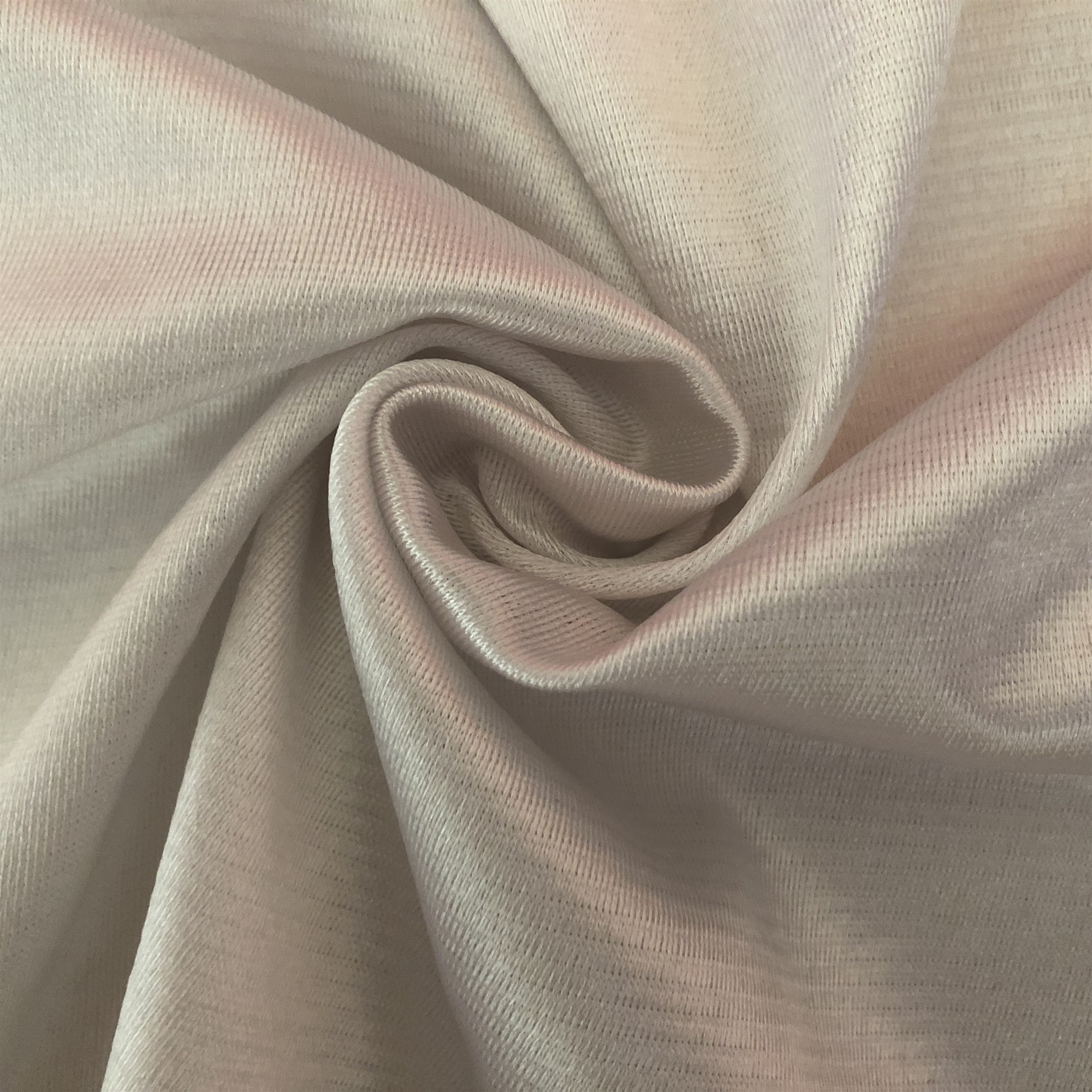 100% Polyester tricot warp knitted flame retardant fabric for garment