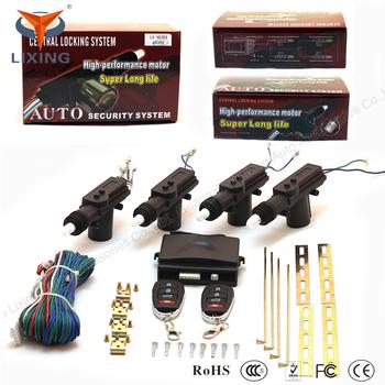 Oem Car Alarm Remote Car Central Locking System With 2 4 Motors 3kg