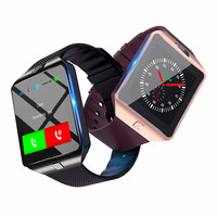 Wireless WIFI Smart Watch DZ09 Sport Wrist Watch For Apple and Android With Camera FM Support SIM Card Watch