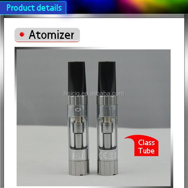 hsj electronic cigarette clearomizer colorful rechargeable e pipe 601 with clearomizer no leak 1473 510 thread