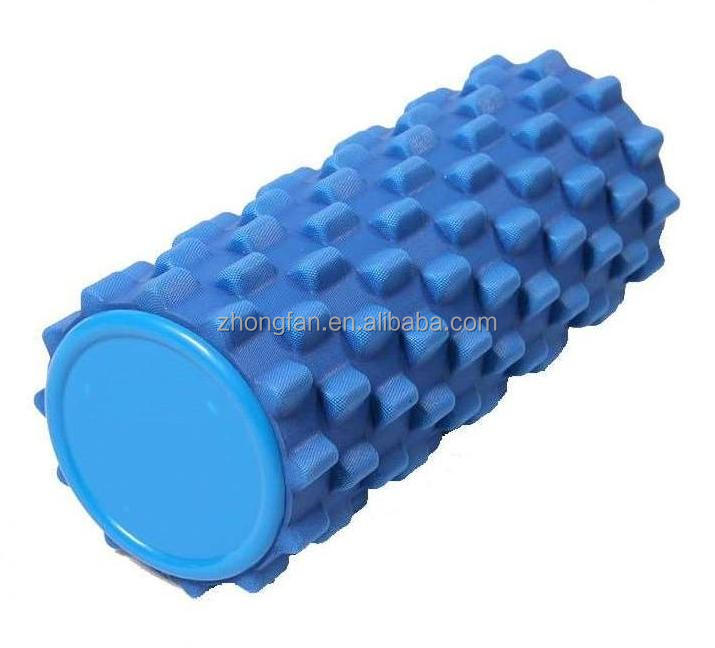 Wholesale High Density EVA Foam Hollow Pilates And Yoga Roller Custom Logo With Deep Massage Grid/Floating Point