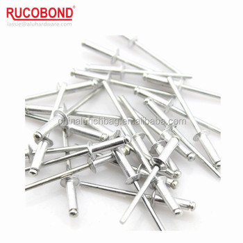China direct sale aluminum pop rivet sizes blind rivets