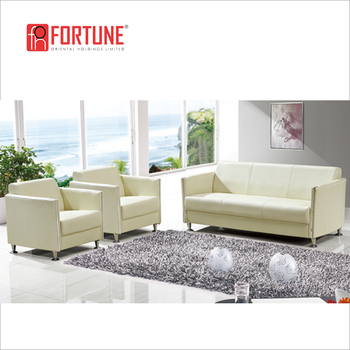 Sy Light Green Leather Sofa 1 2 3 Office Reception Furniture Foh 1431
