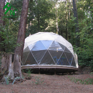 Factory Price Glamping Geodesic Dome Bell Tent For Luxury Camping