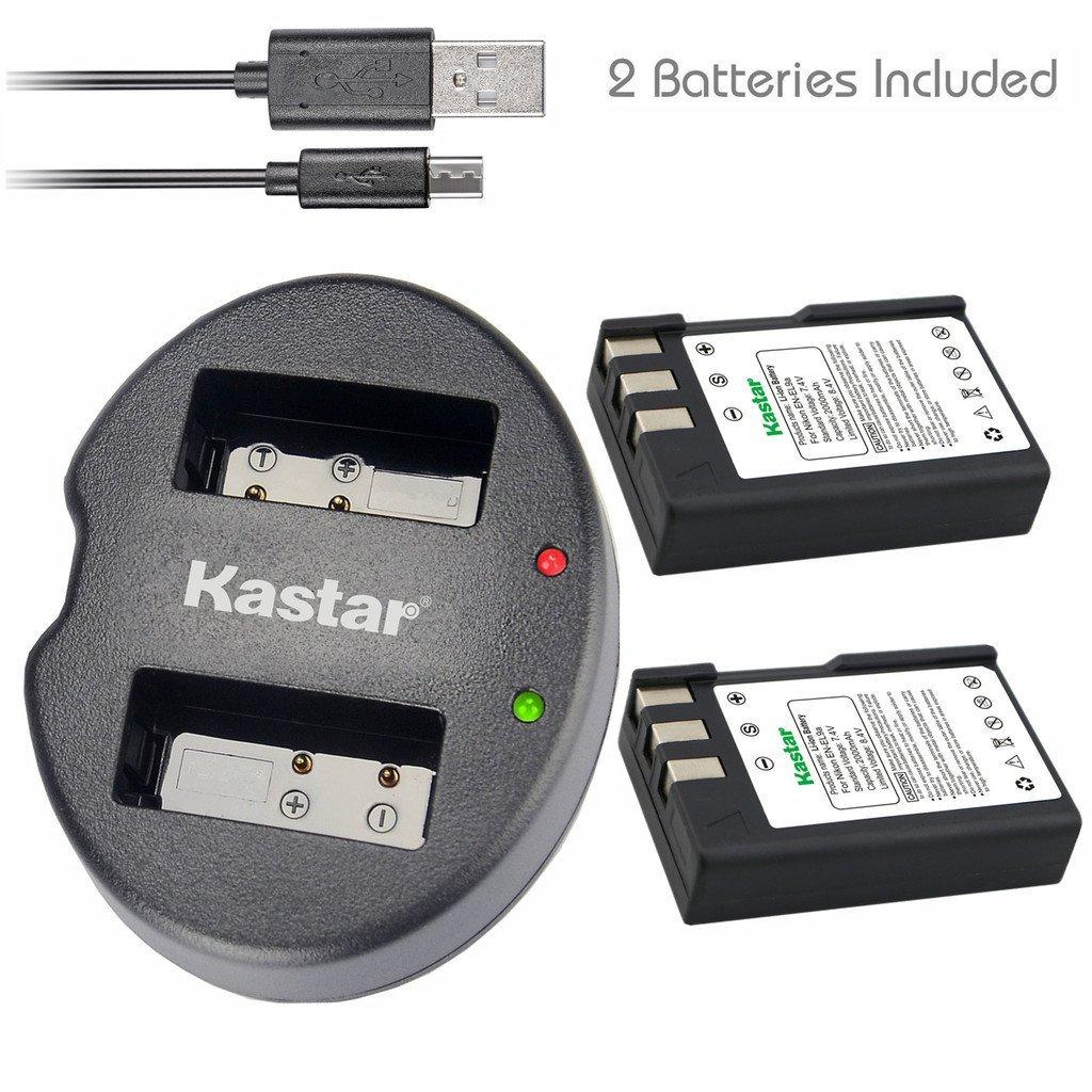 Cheap slr nikon d3000 find slr nikon d3000 deals on line at get quotations kastar battery x2 dual usb charger for nikon en el9 enel9 baditri Images