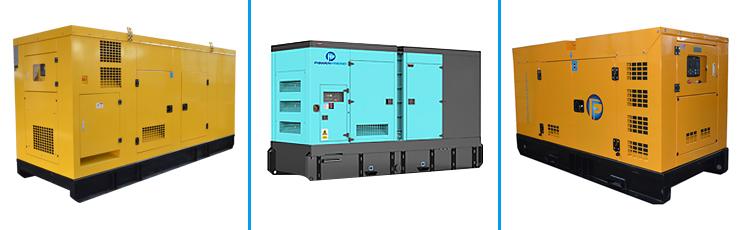 Tipo silencioso de 3 fases 40 kw geradores do diesel de 50 kva