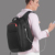2019 Eurcool new style china black cute life blank usb duffel outdoor laptop man bag pack backpack