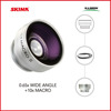 Skina High Quality Digital camera lens 0.65x Super Wide Angle Lens for all smartphone