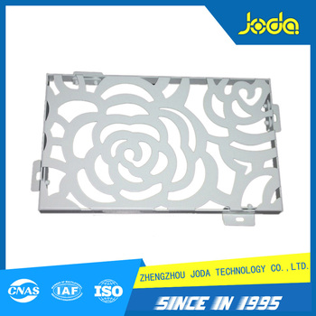 Customized Metal Laser Cut Decorative Aluminium Wall Art Panel