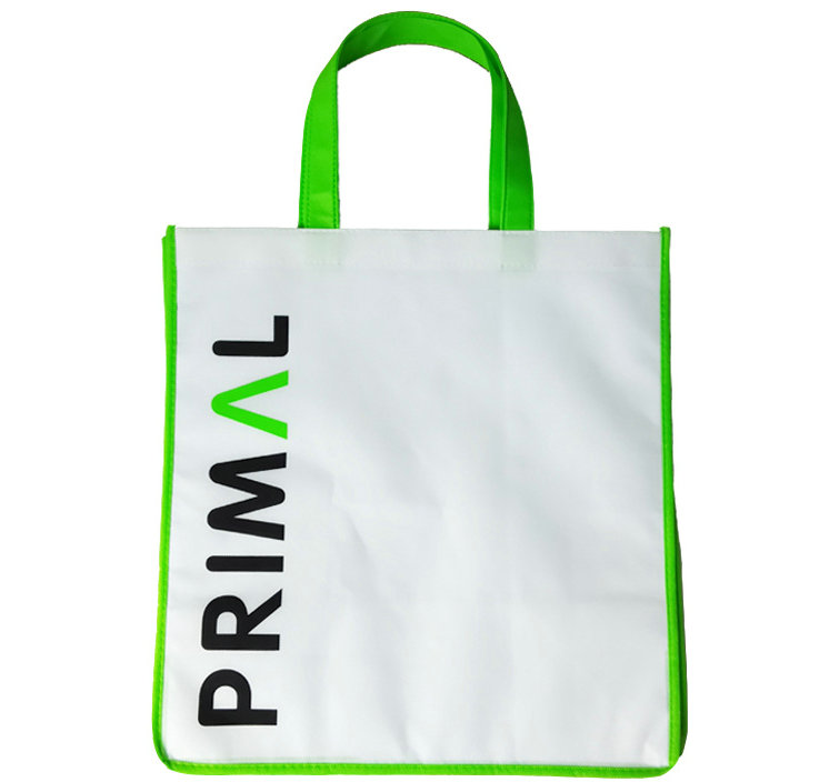 Manufacturer custom logo color printing non woven bags with handle