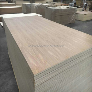 best quality AAA white ash veneer plywood manufacturer from shandong linyi