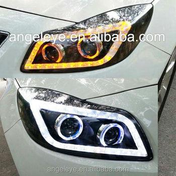 a8 style verano regal opel insignia led strip headlight with bi
