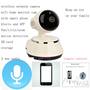 CE FCC certification Baby monitor camera, robot camera,PTZ wifi IP camera smart home IP camera 720P wifi IP Camera P2P