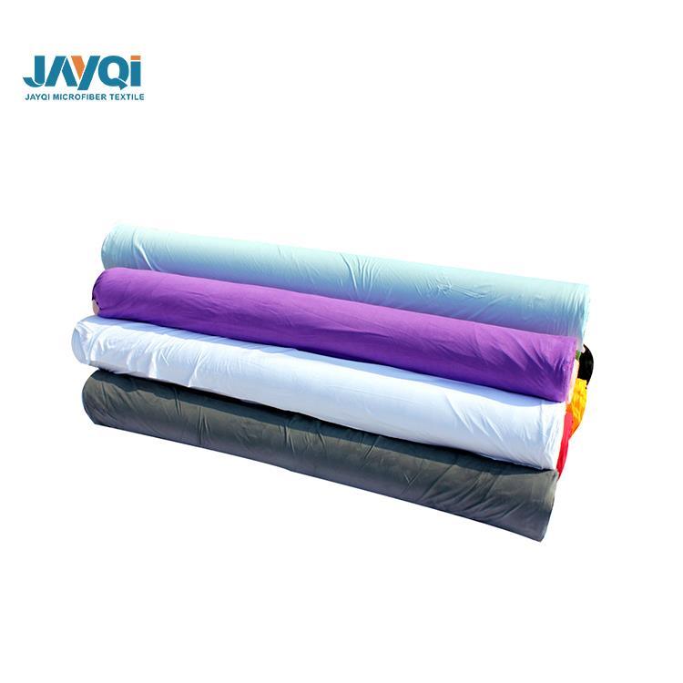 80% polyester 20% polyamide microfibre tissu en rouleaux