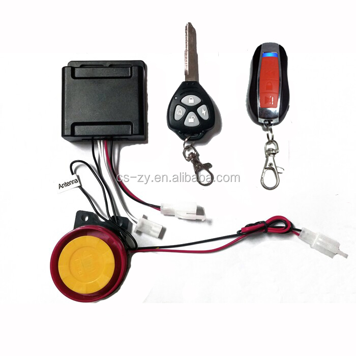 car accessory cheap car alarm anti theft system