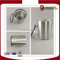 Light weight stainless steel doule wall wine cup