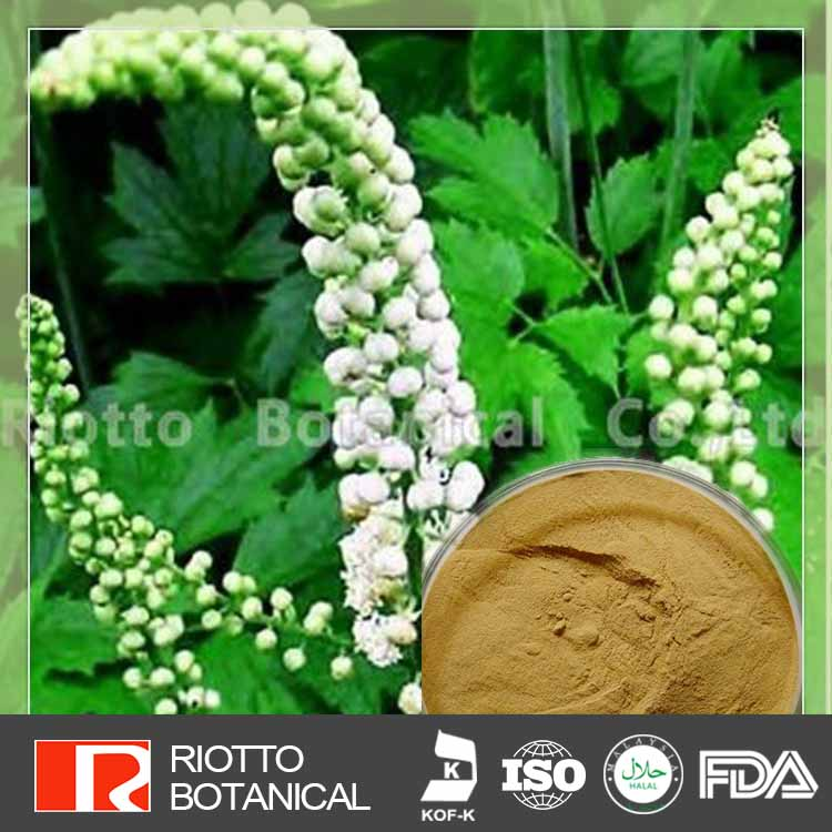 Alleviating Muscle Pain black cohosh extract triterpenoid saponin 8%