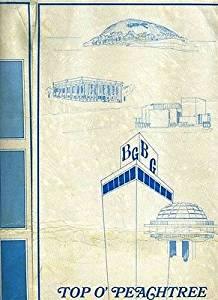 Top O' Peachtree Restaurant Menu Bank of Georgia Building Atlanta Georgia 1970's