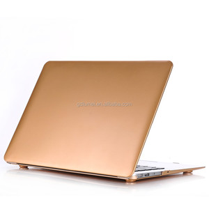 Hot Selling Ultra Slim Golden Plastic Hard Case for MacBook Air, Best Gift for macbook pro retina case