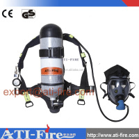 Fire rescue oxygen breathing apparatus portable respirator