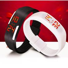 2015 New Fashion Touch Screen LED Bracelet Digital Watches For Men&Ladies&Child Clock Womens Wrist Watch Sports Wristwatch Saat