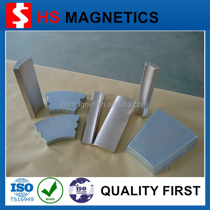 permanent customized neodymium arc curved magnets