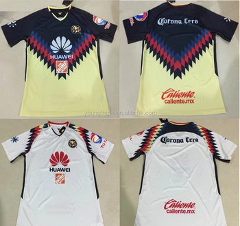 33ae14592d8 Top Thailand Quality 2017 2018 Club America Soccer Jersey - Buy ...