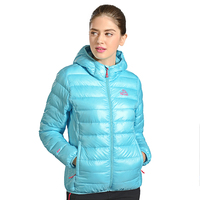 Custome Brand Hiking Sports Wear Chinese Manufacture Womens Outdoor Down Jackets