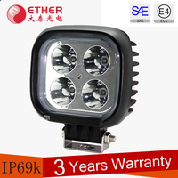 LED Off Road Work Lights 40W high power LED auxiliary lights 12v Automotive LED driving Lights