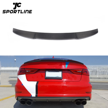 14 16 Carbon Fiber Rear Spoiler For Audi A3 8v S3 Sedan Buy S3 Carbon Fiber Rear Spoiler Rear Spoiler For Audi A3 A3 Sedan Rear Spoiler Product On
