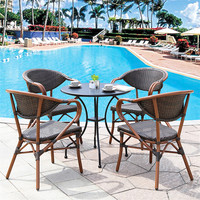 New Indoor outdoor patio set outdoor furniture patio table and chairs set garden line patio furniture sun lounger rattan factory