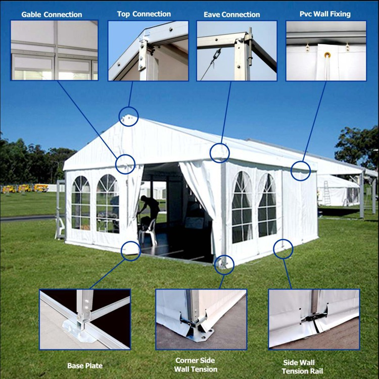 Cheap White Sound Proof Used Wedding Party Tents For Sale