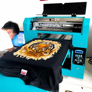 High result A3 size dgt t-shirt printing machine for silk wool cotton