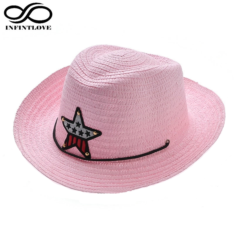 Online Buy Wholesale kids straw cowboy hats from China